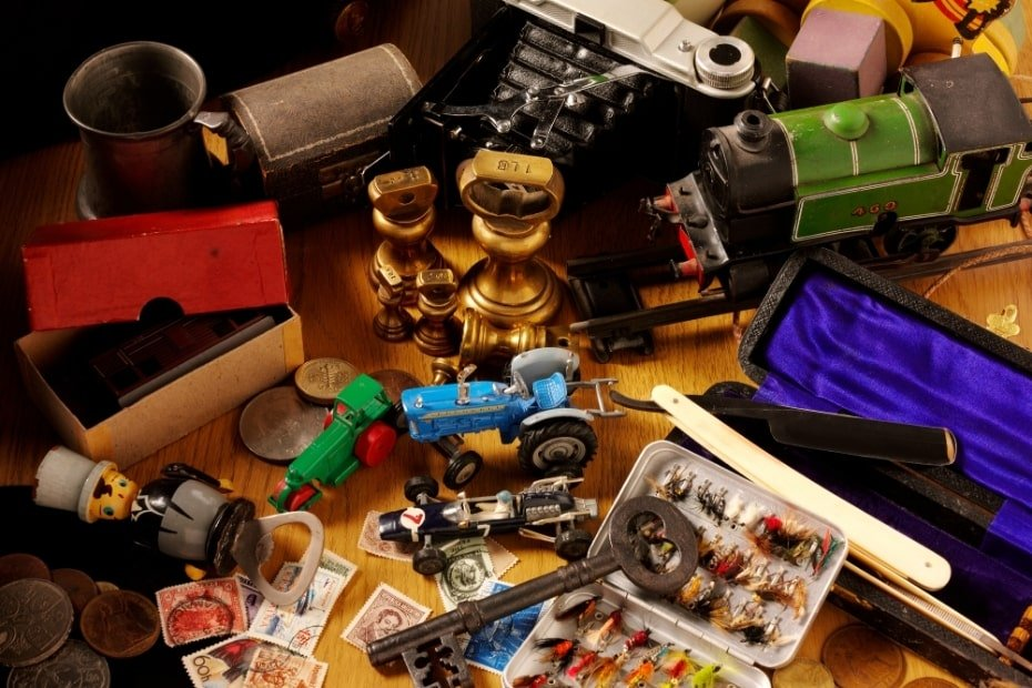Make money selling collection items and wasting assets