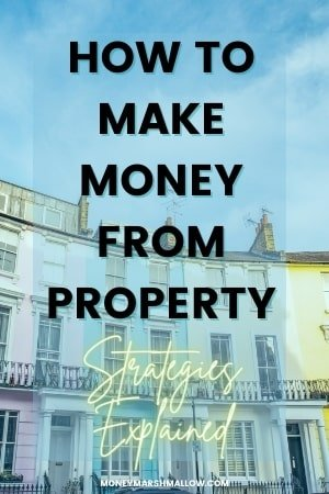 How to make money from property Pin