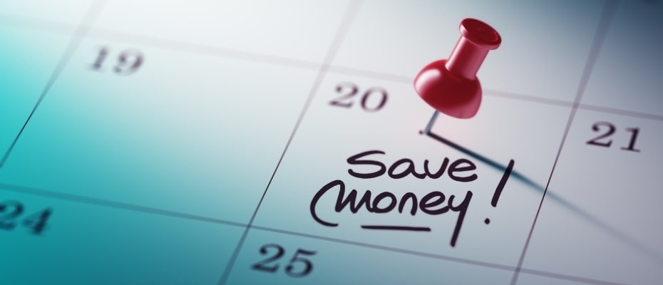 No=spend month to save money